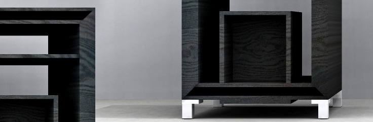Cubic Side Table Design by SIDD Fine Woodworking