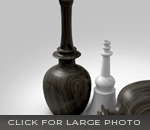 Check and Mate Vases by SIDD