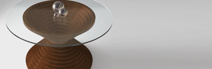 Hourglass Dining Table Design by SIDD Fine Woodworking