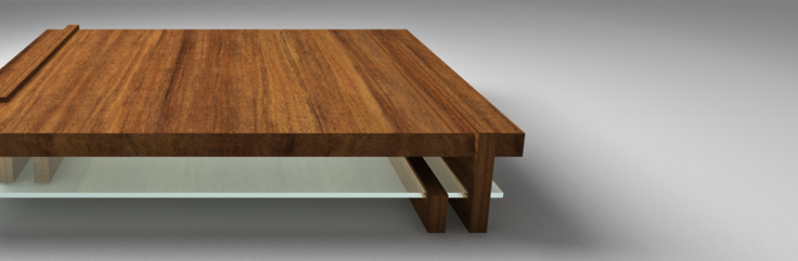 Interrupt Coffee Table Design by SIDD Fine Woodworking
